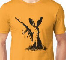 Jackrabbit with Kalashnikov Unisex T-Shirt