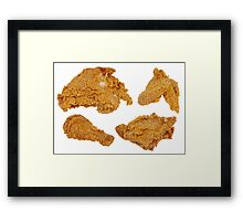 4 Piece Chicken Framed Print