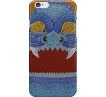 Blue Monster iPhone Case/Skin