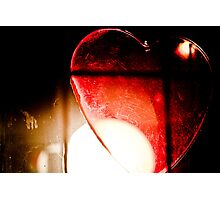 Caged Heart Photographic Print