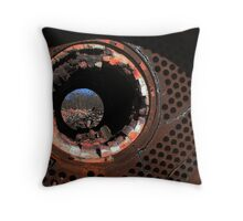 Eye of Destruction Throw Pillow