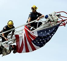 Unveiling The US Flag by DARRIN ALDRIDGE