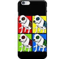 Colorful Pop Art Pit Bull iPhone Case/Skin