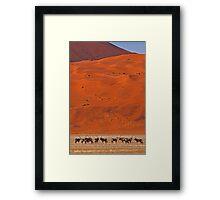 Sossuvlei Framed Print