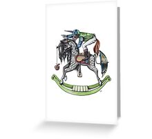 Day at the Races Greeting Card