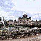 Atlas Fountain and Castle Howard by Ray Clarke