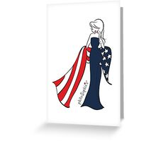 Patriotic philoSophie's Greeting Card