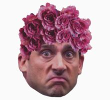 Michael Scott Flower Crown by sadgurl00