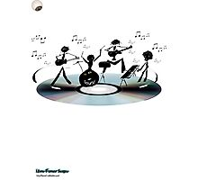 Sound Band - In the head Photographic Print