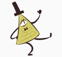 Bill Cipher Gravity Falls Kids Clothes