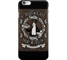 "Chef Dracula's Restaurant: ""For The BITE of your LIFE!"" (Vintage Sign) iPhone Case/Skin"
