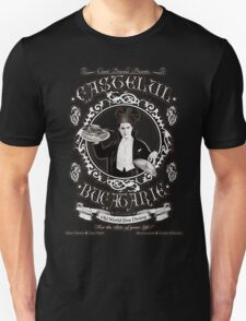 """Chef Dracula's Restaurant: """"For The BITE of your LIFE!"""" (Vintage Sign) Unisex T-Shirt"""