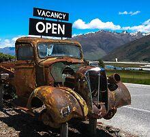Makarora Truck Stop by MichaelJP