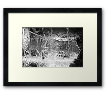 Lost in the Water Framed Print