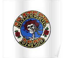 Grateful Dead Roses Poster