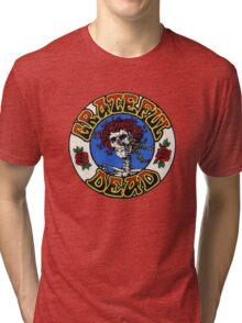 Grateful Dead Roses Tri-blend T-Shirt