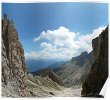 Dolomite view Poster