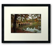 Cumberland Mountain State Park Bridge  Framed Print