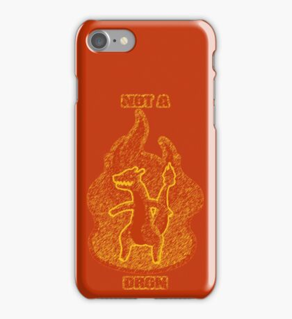 Not a Dragon iPhone Case/Skin