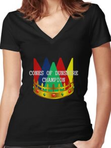 Dunshire Women's Fitted V-Neck T-Shirt
