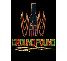 Ground Pound that Like button Photographic Print