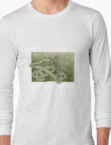 The Green Tree Snake Long Sleeve T-Shirt