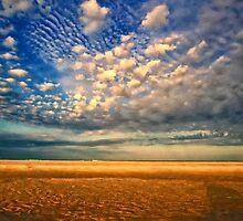 Tidal Pool & Sky by ezindo