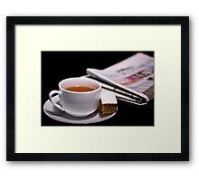 Morning Cuppa Framed Print