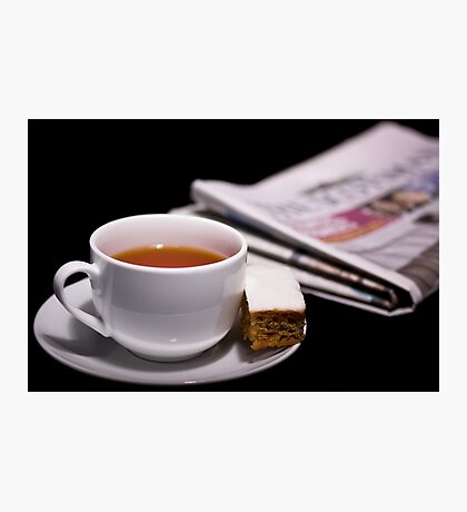 Morning Cuppa Photographic Print