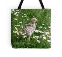 Piep in a sea of Daisies Tote Bag
