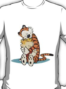 Calvin And Hobbes Always Together T-Shirt