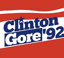Bill Clinton and Al Gore's 1992 campaign as a come from behind miracle by Keith Vance