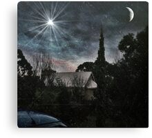 A Starry Night Canvas Print