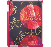 Xmas Card Design 10  iPad Case/Skin