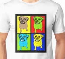 Designer Puggle Dog Pop Art Unisex T-Shirt