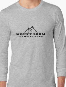 Mount Doom Climbing Team Long Sleeve T-Shirt