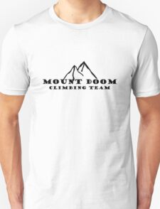 Mount Doom Climbing Team Unisex T-Shirt