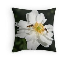 """Meet You At The Centre Honey"" Throw Pillow"