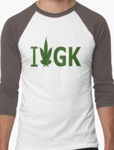 I Love GK Men's Baseball ¾ T-Shirt