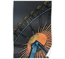 Giant wheel Poster