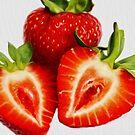 Strawberries by creepyjoe