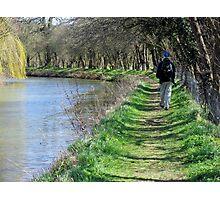 Waterways and pathways Photographic Print