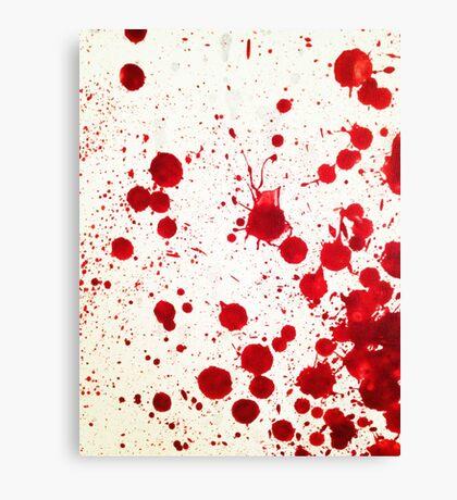 Blood Spatter 2 Canvas Print