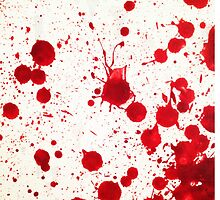 Blood Spatter 2 by jenbarker