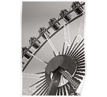 Giant wheel at the Octoberfest Poster