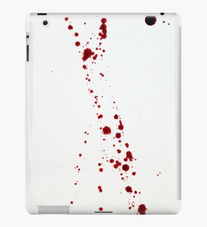 Blood Spatter 4 iPad Case/Skin
