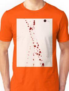Blood Spatter 4 Unisex T-Shirt