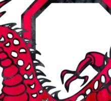 Cortland Grunge Logo Sticker