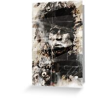 Keith Richards - Classic Keith Greeting Card