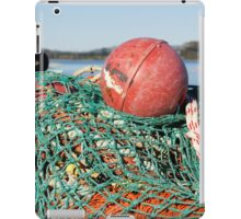 fishing net and floats iPad Case/Skin